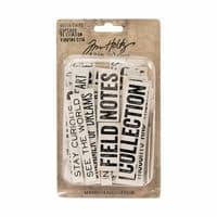 Tim Holtz - Idea-ology - Chipboard Quotes Words/Phrases